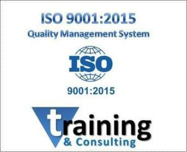 Iso 9001:2015 Consultant And Trainer Services