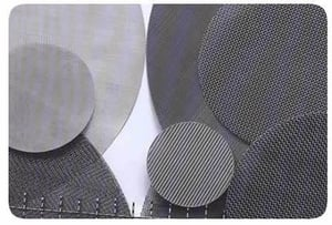 Wire Mesh Extruder Screens