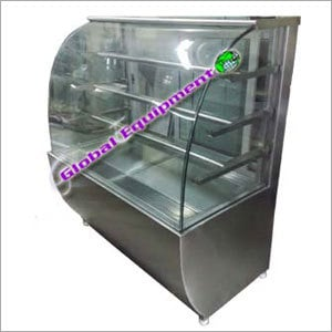 Curve Glass Display Counter