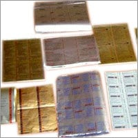 Printed Aluminum Polybacked Foil Inks