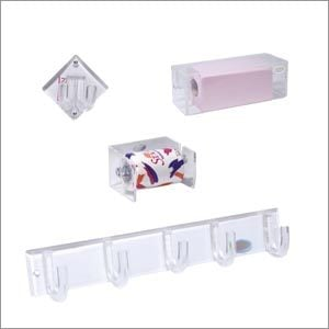 Acrylic Toilet Paper Roll Holder