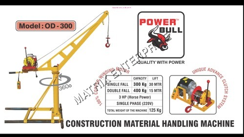 Mini Tower Crane - Manufacturers & Suppliers, Dealers