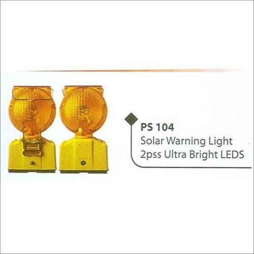 Solar Powered Warning Light