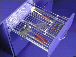 Regular Wire Cutlery Basket