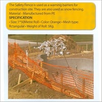 Barrier Safety Fence