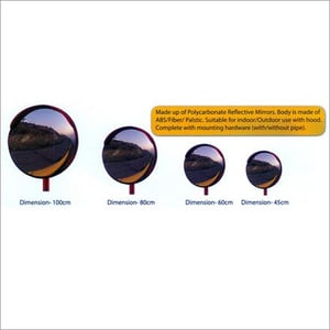 Polycarbonate Reflective Mirrors