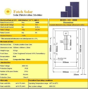 Solar Photovoltaic Fuel Cell