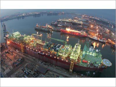 Erection of Power Plant