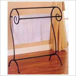 Wrought Iron Towel Stand