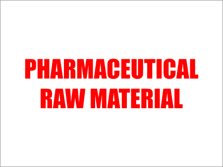 Pharmaceutical Raw Material