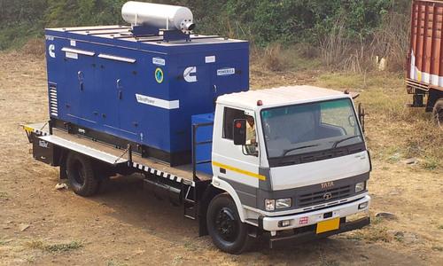 Mobile Van Mounted Dg Set