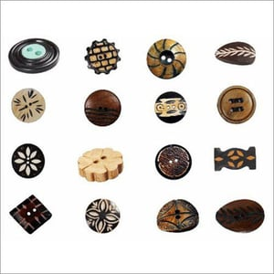 Handcrafted Horn Buttons