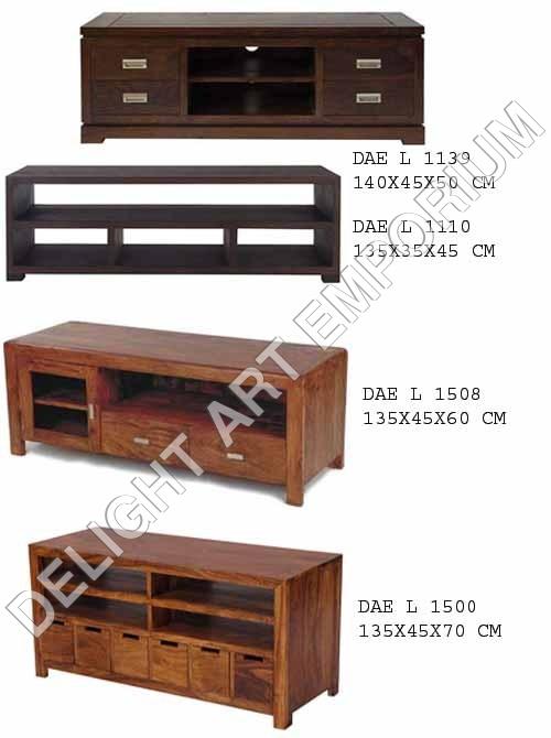 Wooden T.V. Cabinet