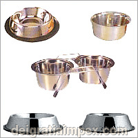 Stainless Steel Pet Ware