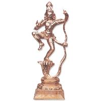 Copper Natraj Statues