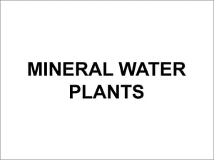 Mineral Water Plants