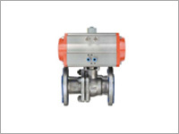 Actuator With Flange