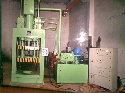 HYDRAULIC PRESS 36 INCH TOP MAKING
