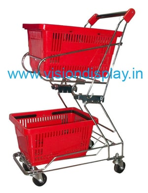 Shopping Trolley With Baskets