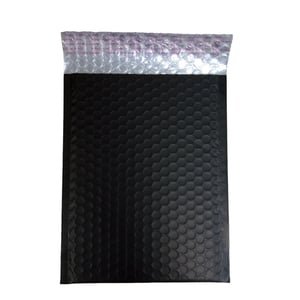 Holographic Glamour Customized Printed Bubble Mailers Insulated Shipping Envelope
