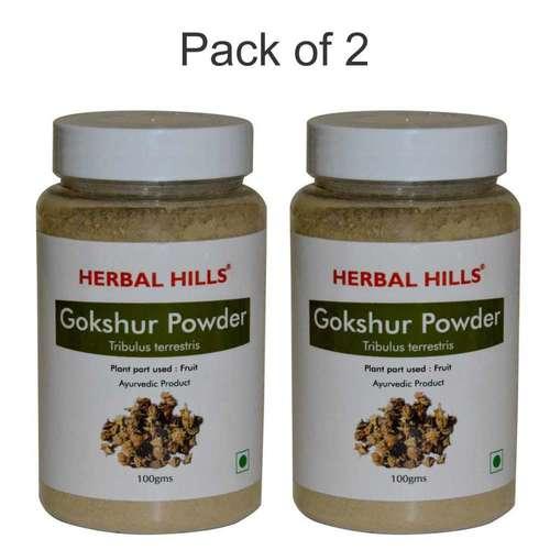 Ayurvedic Gokshur Powder 100gm (Pack Of 2) Kidney Care Power