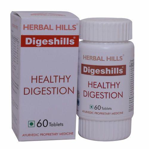 Ayurvedic Digeshills 60 Tablets For Digestion Problem