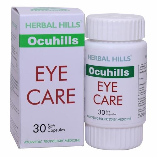 Ayurvedic Ocuhills 30 Capsule For Eyesight Improvement