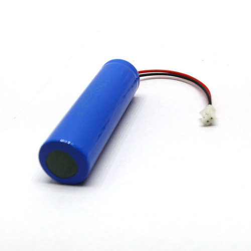 3.7V 18650 Lithium Battery with Wire Connector