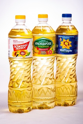 Yellow Color Sunflower Oil