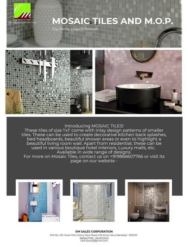 Mosiac Tiles And MOP