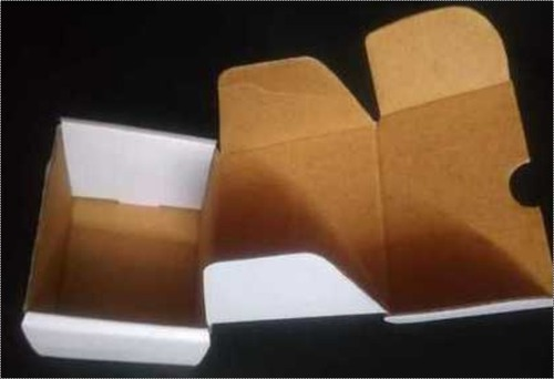 Printed Paper Corrugated Box Certifications: No