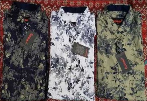 Men Casual Full Sleeves Shirts Age Group: Any