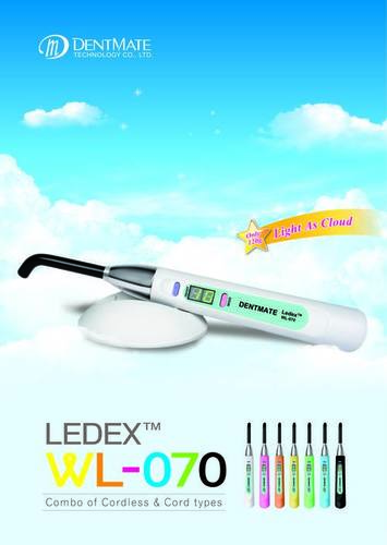 Light Weight Dental Curing Light
