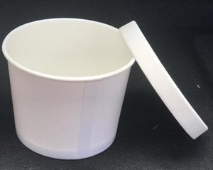 350ml Paper Bowl With Lid