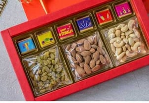 Diwali Special Chocolate with Dryfruit