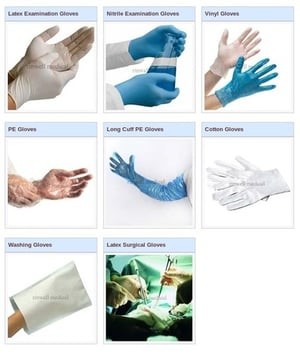 Easy To Clean Surgical Gloves