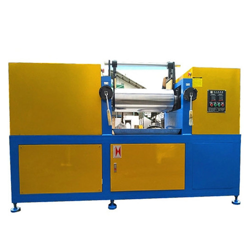 Two-Roll Lab Rubber Mixing Machine