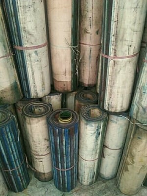 Used Printing Rubber Blankets