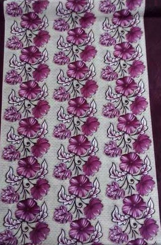 Printed Knitted Curtain Fabrics