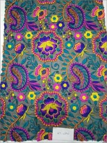 Cotton Polyester Embroidery Fabric
