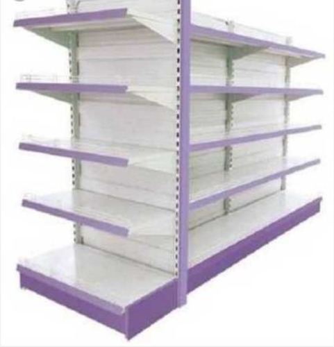 4 Shelves Grocery Store Display Rack For Supermarket
