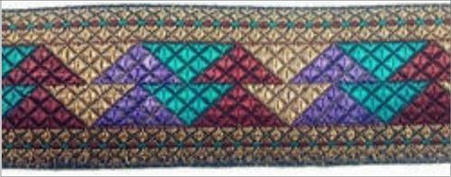Multiple Color Border Lace