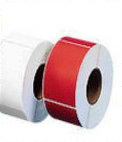 All Color Finish Glossy Plain Labels