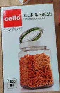 Cello Vaccum Glass Containers