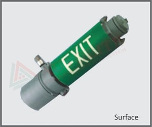 Maintained, Non-Maintained Flame Proof Exit Lights