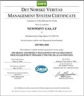 Iso Certificate Services Provider