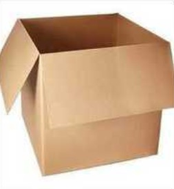 Fine Brown Corrugated Paper Box