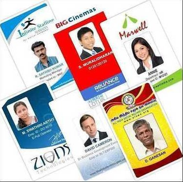 Id Card With Lanyard Material: Plastic