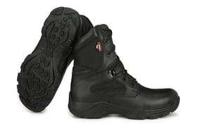Response 8.0 Side Zip Military and Tactical Black Boot