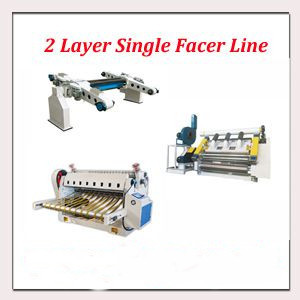 2 Layer Single Facer Line